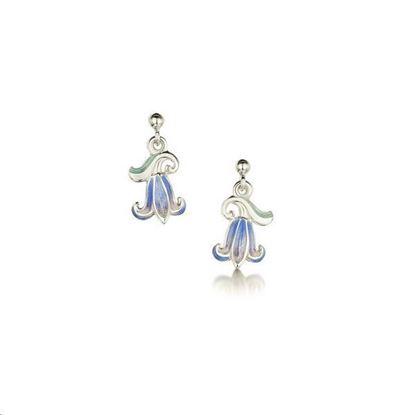 Sheila Fleet - EEX241 Bluebell Earrings (colour shown is Bluebells)