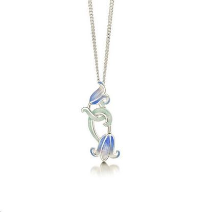 Sheila Fleet - EP241 Bluebell Pendant (colour shown is Bluebells)