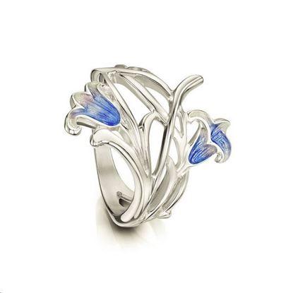 Sheila Fleet - ERX242 Bluebell Ring (colour shown is Bluebells)