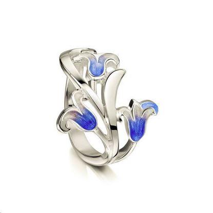 Sheila Fleet - ER241 Bluebell Ring (colour shown is Bluebells)