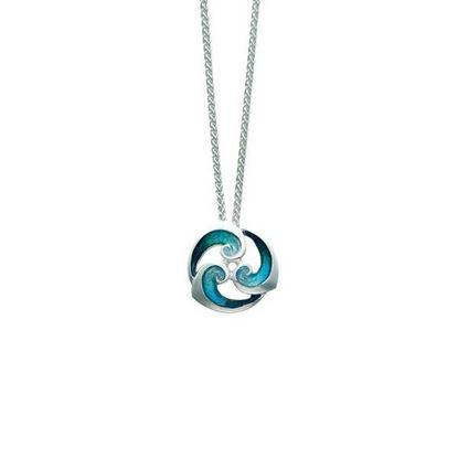 Sheila Fleet - EP146 Breckon Pendant (colour shown is Peacock)