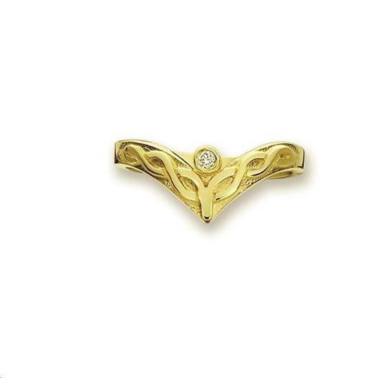 Sheila Fleet - DWR13 Celtic Diamond Ring