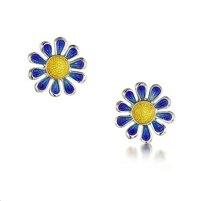 Sheila Fleet - C-EE234 Coloured Daisies Earrings