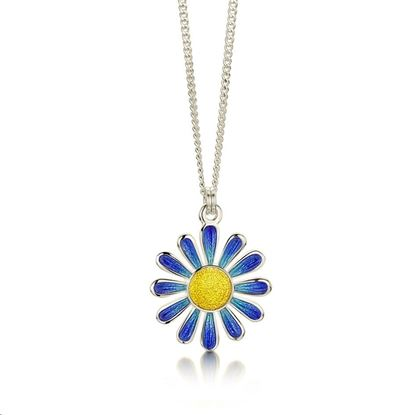Sheila Fleet - C-EPX233 Coloured Daisies Pendant