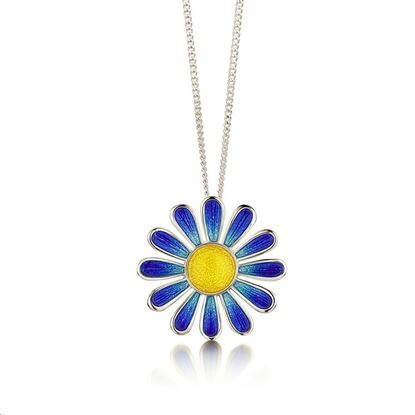 Sheila Fleet - C-EPXX234 Coloured Daisies Pendant