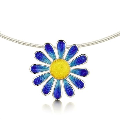 Sheila Fleet - C-ENXX233 Coloured Daisies Necklet