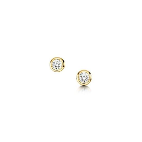 Sheila Fleet - DE03 Contemporary Diamonds Earrings - 9YG