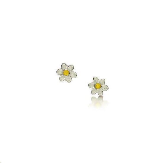 Sheila Fleet - EE0236 Daisies Earrings (enamel colour shown - Sunshine)