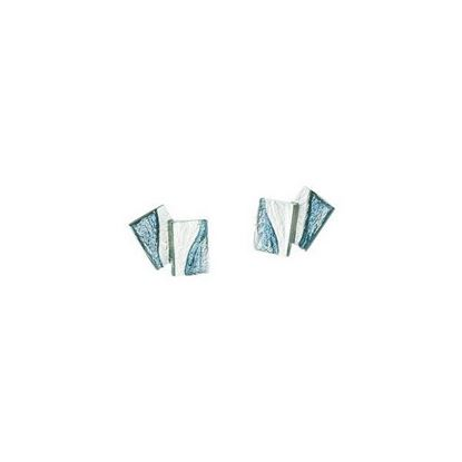 Sheila Fleet - EE0137 Flagstone Earrings (enamel colour shown in Slate)