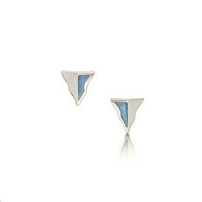 Sheila Fleet - EE0117 Lomond Reflections Earrings (enamel colour shown in Dawn)