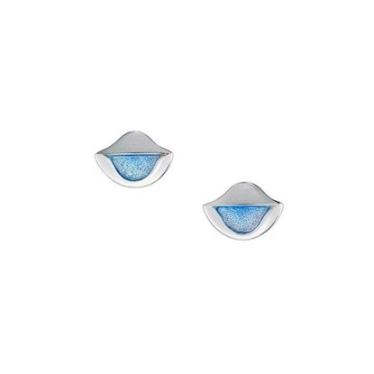Sheila Fleet - EE0116 Lomond Reflections Earrings (enamel colour shown in Dawn)