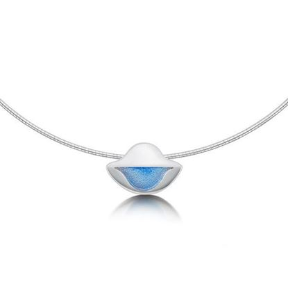 Sheila Fleet - EN0116 Lomond Reflections Necklet (enamel colour shown in Dawn)