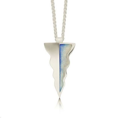 Sheila Fleet - EPX117 Lomond Reflections Pendant (enamel colour shown in Dawn)