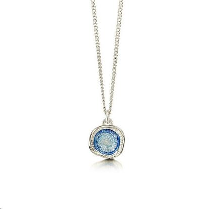 Sheila Fleet - EP0249 Lunar Pendant (enamel colour shown in Luanr Blue)