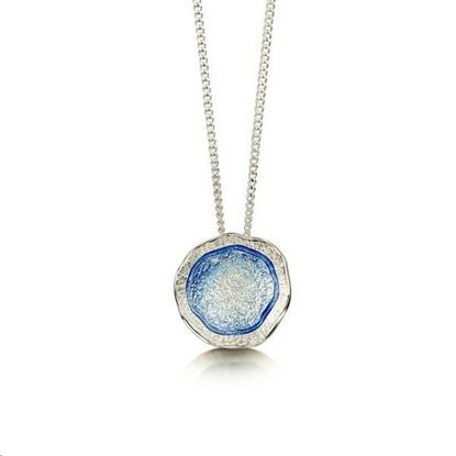 Sheila Fleet - EP249 Lunar Pendant (enamel colour shown in Lunar Blue)