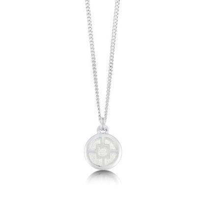 Sheila Fleet - EP91 Minehowe Pendant (enamel colour shown in Crystal)