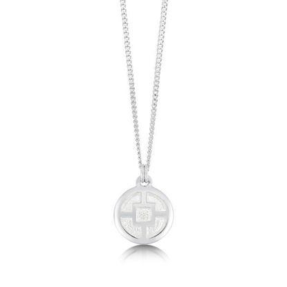 Sheila Fleet - EPX91 Minehowe Pendant (enamel colour shown in Crystal)