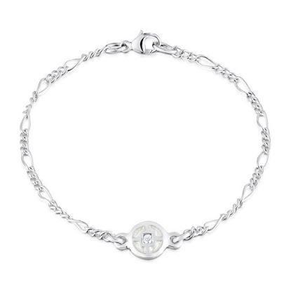 Sheila Fleet - ESBL091 Minehowe Bracelet (enamel colour shown in Crystal)