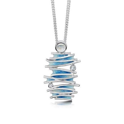 Sheila Fleet - ESP148 Moonlight Pendant (enamel colour shown in Moonlight)