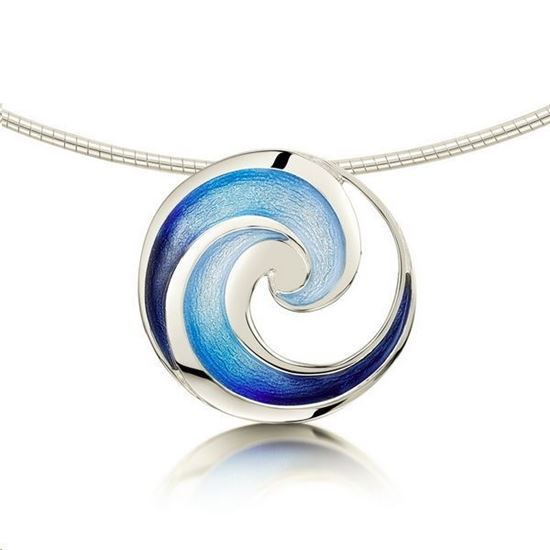 Sheila Fleet - EN51 Pentland Necklet (enamel colour shown in Pentland)
