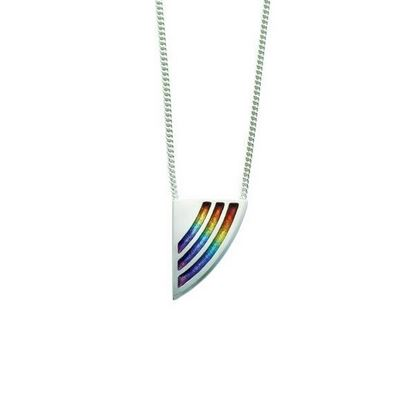 Sheila Fleet - EPX121 Rainbow Pendant
