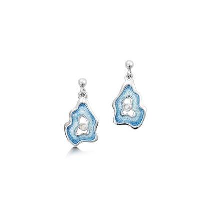 Sheila Fleet - ESE0183 Rock Pool Earrings