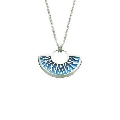 Sheila Fleet - EP34 Runic Pendant (enamel colour shown in Skaill)