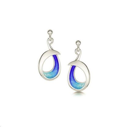 Sheila Fleet - EEX238 Sea and Surf Earrings