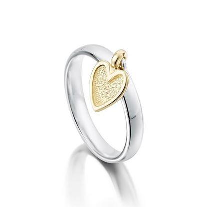 Sheila Fleet - R0138 Secret Hearts Ring