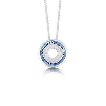 Sheila Fleet - EP0100 Skyran Pendant (enamel shown in Twilight Blue)