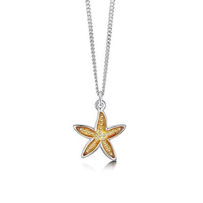 Sheila Fleet - EP251 Starfish Pendant (enamel shown in Starfish)