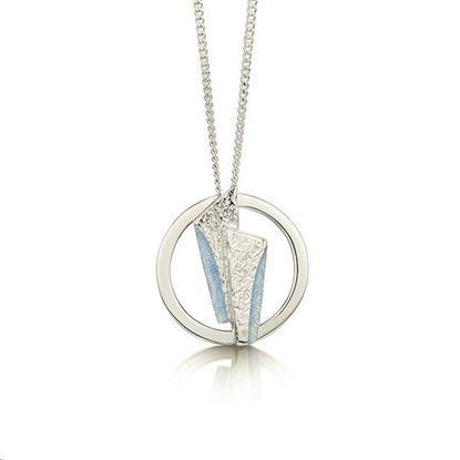 Sheila Fleet - EP143 Stone Circles Pendant