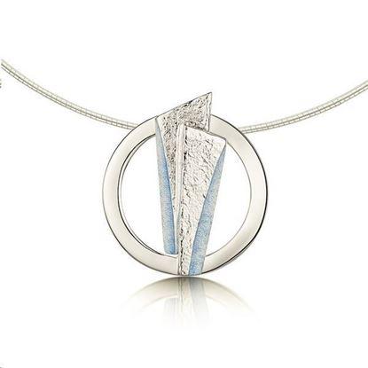 Sheila Fleet - ENX143 Stone Circles Necklet