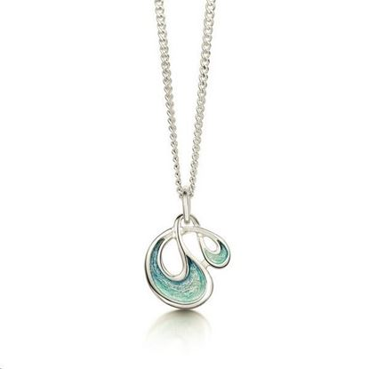 Sheila Fleet - EP0054 Storm Pendant (enamel shown in Storm)
