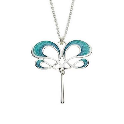 Sheila Fleet - EP54 Storm Pendant (enamel shown in Storm)