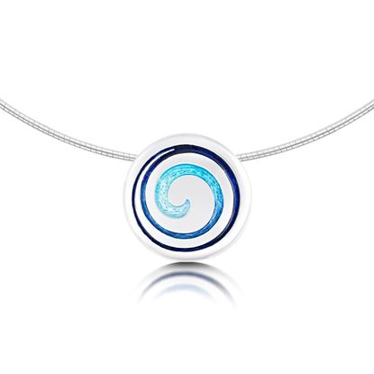 Sheila Fleet - ENX30 Surfbreaker Necklet (enamel shown in Pentland)