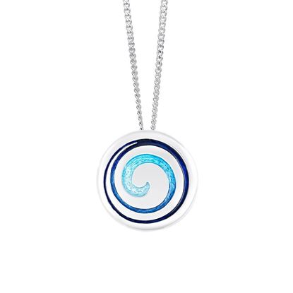 Sheila Fleet - EPX30 Surfbreaker Pendant (enamel shown in Pentland)