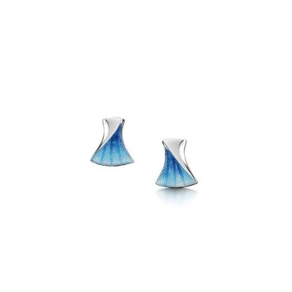 Sheila Fleet - EE225 Symphony Earrings (enamel shown in Viennese)