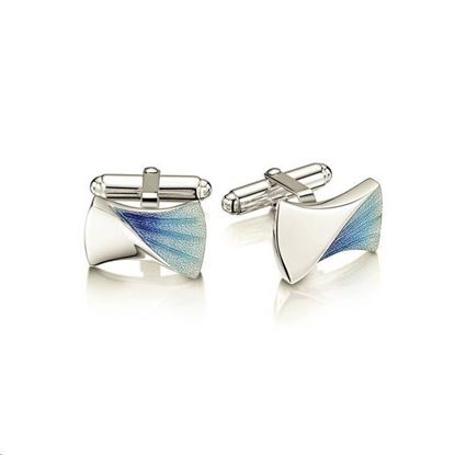 Sheila Fleet - ECL225 Symphony Cufflinks (enamel shown in Viennese)