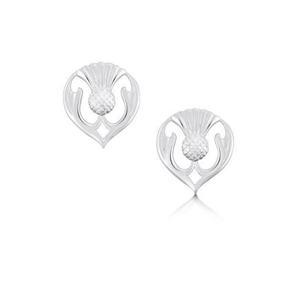 Sheila Fleet - E59 Thistle Earrings