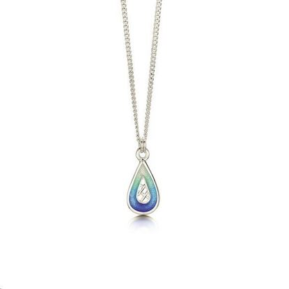 Sheila Fleet - EP00205 Tidal Treasures Pendant (enamel shown in Ocean Hue)