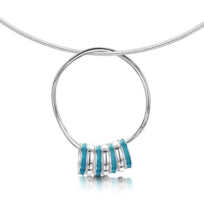Sheila Fleet - ENXX213 Wave Surfers Necklet