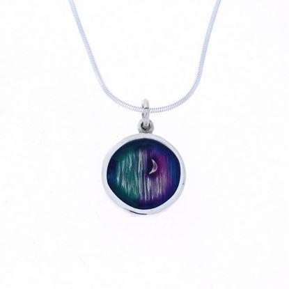 Shetland Jewellery - MDP20 Mirrie Dancers Pendant