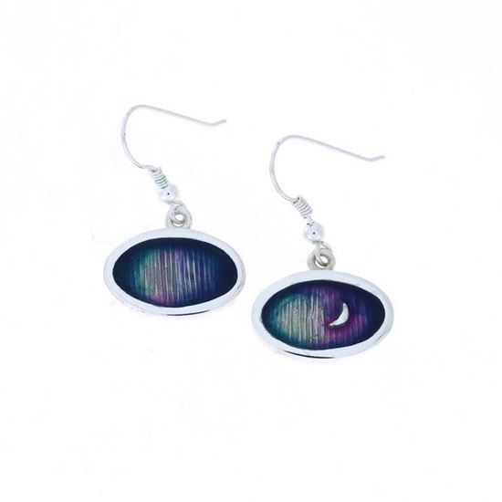 Shetland Jewellery - MDE225 Mirrie Dancers Earrings