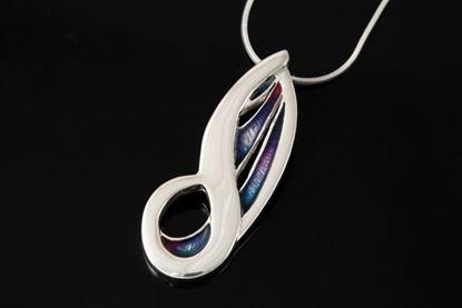 Shetland Jewellery - MDP22 Mirrie Dancers Pendant