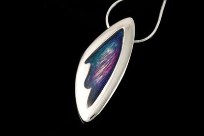 Shetland Jewellery - MDP23 Mirrie Dancers Pendant