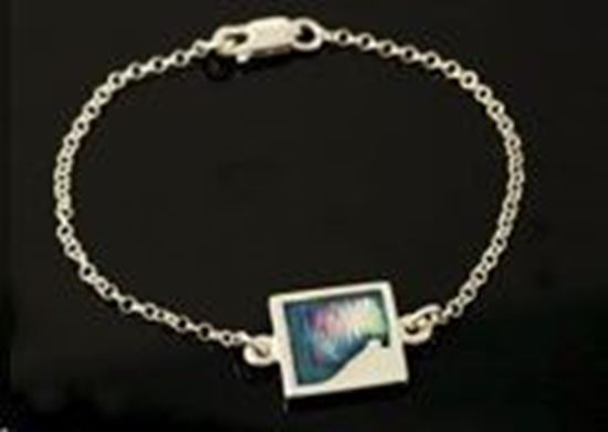 Shetland Jewellery - MDBR21 Mirrie Dancers Bracelet