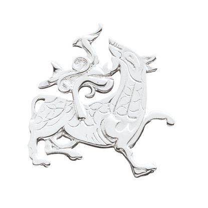 Ola Gorie - BCH-00113 Maeshowe Dragon Brooch