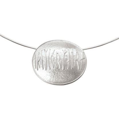 Ola Gorie - CUF-00412-16W Maeshow Runes Pendant