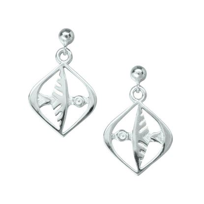 Ola Gorie - EAR-00326 Odin's Bird Earrings